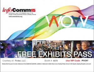 Infocomm 2015  VIP pass